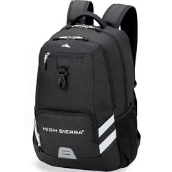 High Sierra Active RFID Blocking Backpack Black 15415