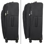 Samsonite Spark Eco Softside Suitcase Set of 3 Eco Black 15759, 15761, 15762 with FREE Samsonite Luggage Scale 34042 - 3
