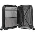 Samsonite Varro Medium 68cm Hardside Suitcase Black 12420 - 6