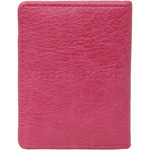 Vault Ladies' PU RFID Blocking Slimline Credit Card Holder Pink W1013 - 1