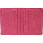 Vault Ladies' PU RFID Blocking Slimline Credit Card Holder Pink W1013 - 2