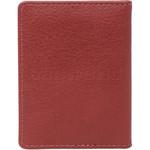 Vault Ladies' PU RFID Blocking Slimline Credit Card Holder Red W1013 - 1