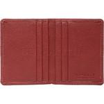 Vault Ladies' PU RFID Blocking Slimline Credit Card Holder Red W1013 - 2