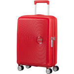 American Tourister Curio Small/Cabin 55cm Hardside Suitcase Magma Red 87999