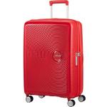 American Tourister Curio Medium 69cm Hardside Suitcase Magma Red 86229