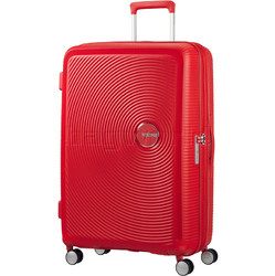 American Tourister Curio Large 80cm Hardside Suitcase Magma Red 86230