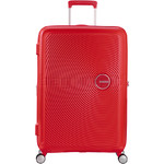 American Tourister Curio Hardside Suitcase Set of 3 Magma Red 87999, 86229, 86230 with FREE Samsonite Luggage Scale 34042 - 2
