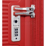 American Tourister Curio Hardside Suitcase Set of 3 Magma Red 87999, 86229, 86230 with FREE Samsonite Luggage Scale 34042 - 4
