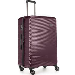 Antler Viva Large 80cm Hardside Suitcase Aubergine 45015
