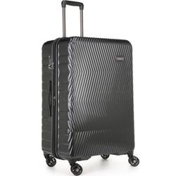 Antler Viva Large 80cm Hardside Suitcase Charcoal 45015
