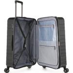 Antler Viva Large 80cm Hardside Suitcase Charcoal 45015 - 3