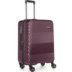 Antler Viva Medium 68cm Hardside Suitcase Aubergine 45016