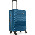 Antler Viva Medium 68cm Hardside Suitcase Teal 45016