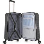 Antler Viva Medium 68cm Hardside Suitcase Charcoal 45016 - 3