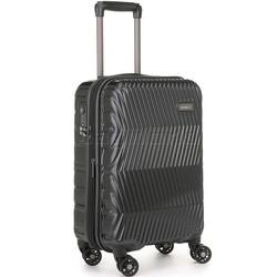 Antler Viva Small/Cabin 56cm Hardside Suitcase Charcoal 45019