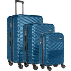 Antler Viva Hardside Suitcase Set of 3 Teal 45015, 45016, 45019 with FREE GO Travel Luggage Scale G2006