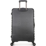 Antler Viva Hardside Suitcase Set of 3 Charcoal 45015, 45016, 45019 with FREE GO Travel Luggage Scale G2006 - 1