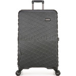 Antler Viva Hardside Suitcase Set of 3 Charcoal 45015, 45016, 45019 with FREE GO Travel Luggage Scale G2006 - 2