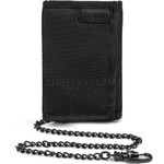 Pacsafe RFIDsafe Z50 RFID Blocking Tri-Fold Wallet Black 10600