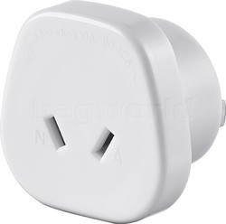 GO Travel Adaptor Plug Australia to USA/Japan White GO564