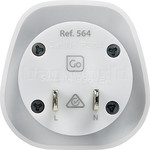 GO Travel Adaptor Plug Australia to USA/Japan White GO564 - 1