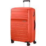 American Tourister Sunside Large 77cm Hardside Suitcase Flame Orange 07528