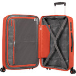 American Tourister Sunside Large 77cm Hardside Suitcase Flame Orange 07528 - 5