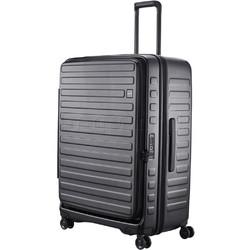 Lojel Cubo Extra Large 78cm Hardside Suitcase Black JCU78