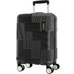 American Tourister Velton Small/Cabin 55cm Hardside Suitcase Black 24734