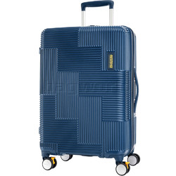 American Tourister Velton Medium 69cm Hardside Suitcase Navy 24731