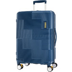 American Tourister Velton Medium 69cm Hardside Suitcase Navy 24731