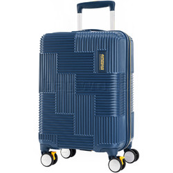 American Tourister Velton Small/Cabin 55cm Hardside Suitcase Navy 24734