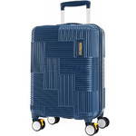 American Tourister Velton Small/Cabin 55cm Hardside Suitcase Navy 24734
