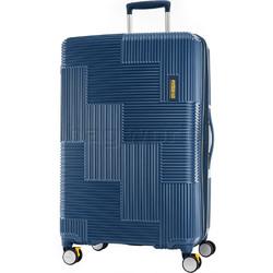 American Tourister Velton Large 81cm Hardside Suitcase Navy 24732