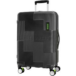American Tourister Velton Medium 69cm Hardside Suitcase Black 24731