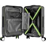 American Tourister Velton Small/Cabin 55cm Hardside Suitcase Black 24734 - 2