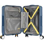 American Tourister Velton Small/Cabin 55cm Hardside Suitcase Navy 24734 - 2