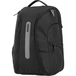 "American Tourister Workout 03 16.4"" Laptop & Tablet Backpack Black 19791"