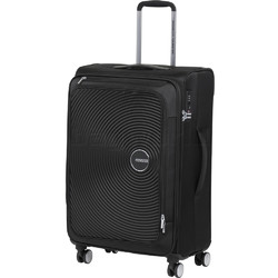 American Tourister Curio SS Medium 69cm Softside Suitcase Black 22701