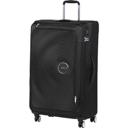 American Tourister Curio SS Large 81cm Softside Suitcase Black 22702