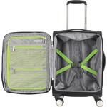"""American Tourister Curio SS Small/Cabin 15.6"""" Laptop 55cm Softside Suitcase Black 22700 - 4"""