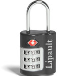 Lipault Travel Accessories TSA Combination Lock Anthracite Grey 64793