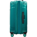 American Tourister Modern Dream Hardside Suitcase Set of 3 Emerald Green 10082, 10081, 22087 with FREE Samsonite Luggage Scale 34042 - 3