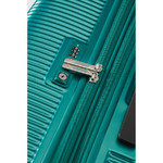 American Tourister Modern Dream Hardside Suitcase Set of 3 Emerald Green 10082, 10081, 22087 with FREE Samsonite Luggage Scale 34042 - 5
