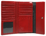 Cellini Ladies' Atlanta Foldover Leather Wallet Red T1027 - 2