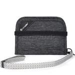Pacsafe RFIDsafe V50 RFID Blocking Compact Wallet Granite Melange 10551