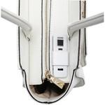 "FYB London Smart City RFID Blocking 12.5"" Laptop Handbag White FY100 - 7"