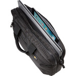 "Case Logic Bryker 15.6"" Laptop & Tablet Attaché Black YB115 - 4"