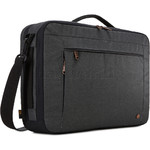 "Case Logic Era 15.6"" Laptop & Tablet Hybrid Briefcase/Backpack Obsidian CV116"