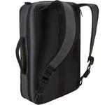 """Case Logic Era 15.6"""" Laptop & Tablet Hybrid Briefcase/Backpack Obsidian CV116 - 2"""